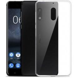 Nokia 6 silikonový obal Průhledný