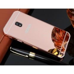 Zrcadlový kryt pro Samsung Galaxy J3 2017 - Růžový
