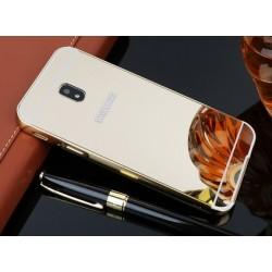 Zrcadlový kryt pro Samsung Galaxy J3 2017 - Zlatý