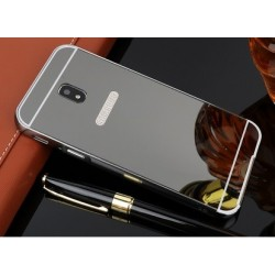Zrcadlový kryt pro Samsung Galaxy J3 2017 - Černý