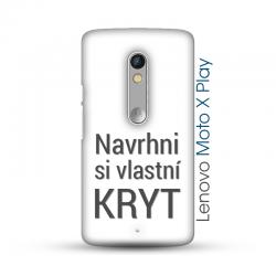 Lenovo Moto X Play pevný kryt s vlastním designem