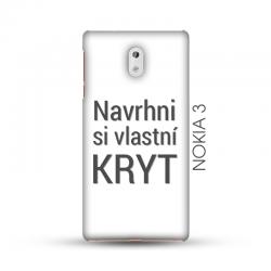 Nokia 3 pevný kryt s vlastním motivem