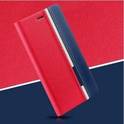 Samsung J7 2017 knížkový obal TopQ Červený