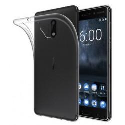 Nokia 8 silikonový obal Průhledný