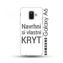 Samsung Galaxy A6 kryt s vlastním motivem