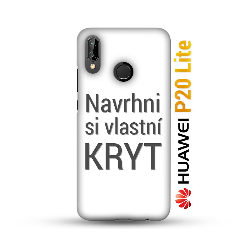 Originální pevný kryt s vlastním motivem pro Huawei P20 Lite máme skladem v  ČR a vytiskneme Vám jej do 3 dnů! Vytvořte svým blízkým originální dárek e7e64c8cb27