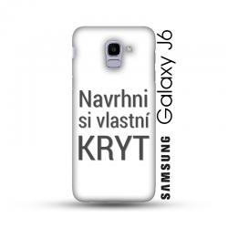 Samsung Galaxy J6 kryt s vlastní fotkou