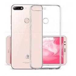 Huawei Y6 Prime 2018 silikonový obal Průhledný