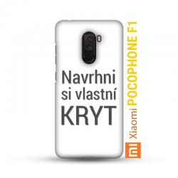 Xiaomi Pocophone F1 kryt s vlastní fotkou