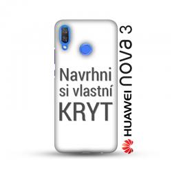 Huawei Nova 3 kryt s vlastní fotkou