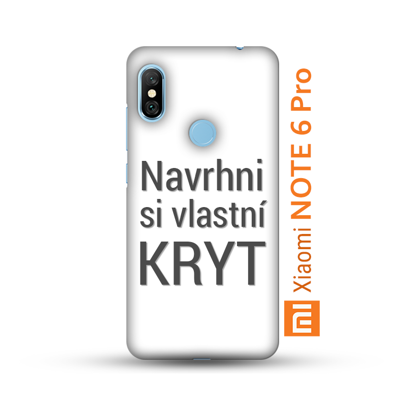 Originální pevný kryt s vlastním motivem pro Xiaomi Redmi Note 6 Pro máme  skladem v ČR a vytiskneme Vám jej do 3 dnů! Vytvořte svým blízkým  originální dárek ... 823258a29da