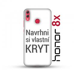 Honor 8X pevný kryt s vlastním designem