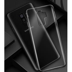 Samsung A6 Plus silikonový obal Průhledný