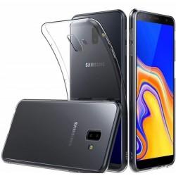 Samsung J6+ J610F silikonový obal Průhledný