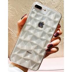 iPhone XS Max silikonový obal Diamond - průhledný