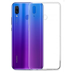 Huawei P Smart 2019 silikonový obal Průhledný