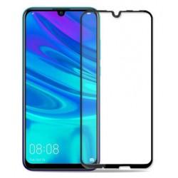 Tvrzené ochranné sklo na mobil Huawei P Smart 2019 - černé
