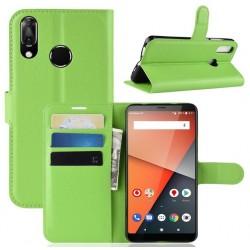 Vodafone Smart X9 ochranné pouzdro s poutkem Zelené