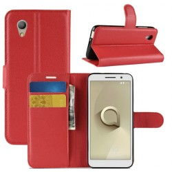 Vodafone Smart E9 ochranné pouzdro s poutkem Červené