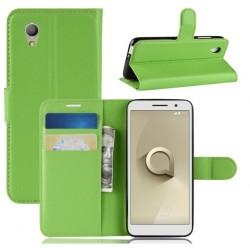 Vodafone Smart E9 ochranné pouzdro s poutkem Zelené