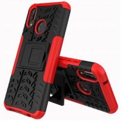 Odolný obal na Huawei P20 Lite   Armor case - Červený