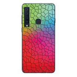 Samsung Galaxy A9 silikonový obal s potiskem Mozaika