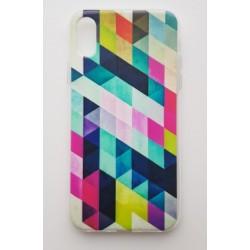 iPhone XS Max silikonový obal s potiskem Colormix