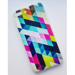 iPhone 7 Plus silikonový obal s potiskem Colormix
