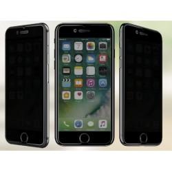 Tvrzené ochranné sklo na mobil iPhone 8 - protišpionážní