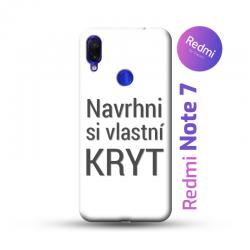 Redmi Note 7 kryt s vlastní fotkou