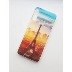 Honor 10 Lite Silikonový obal s potiskem Paris