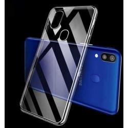 Samsung Galaxy M20 silikonový průhledný obal