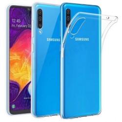 Samsung A50 silikonový průhledný obal
