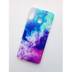 Samsung Galaxy M20 silikonový obal s potiskem Vesmír