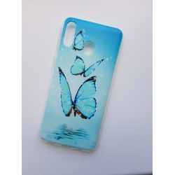 Samsung Galaxy M20 silikonový obal s potiskem Motýli