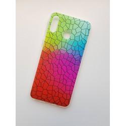 Samsung Galaxy M20 silikonový obal s potiskem Mozaika