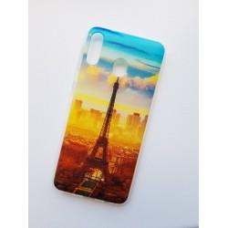 Samsung Galaxy M20 silikonový obal s potiskem Paris