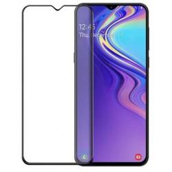 Tvrzené ochranné sklo na mobil Samsung Galaxy M20 - černé