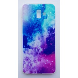 Samsung Galaxy J6+ silikonový obal s potiskem Vesmír