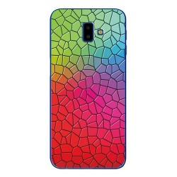 Samsung Galaxy J6+ silikonový obal s potiskem Mozaika