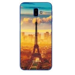 Samsung Galaxy J6+ silikonový obal s potiskem Paris