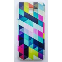 Samsung Galaxy J4+ silikonový obal s potiskem Colormix