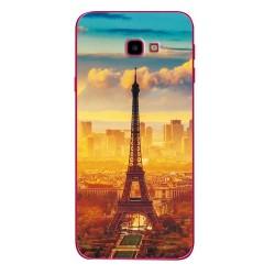 Samsung Galaxy J4+ silikonový obal s potiskem Paris