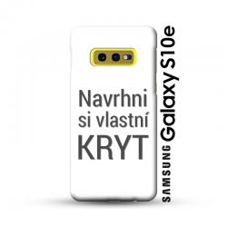 Samsung Galaxy S10e kryt s vlastní fotkou