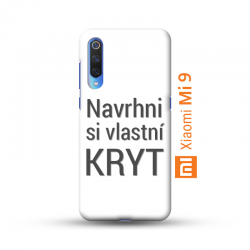Xiaomi Mi 9 kryt s vlastní fotkou