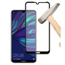 Tvrzené ochranné sklo na mobil Huawei Y6 2019 - černé