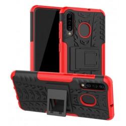 Samsung Galaxy A50 odolný obal Červený