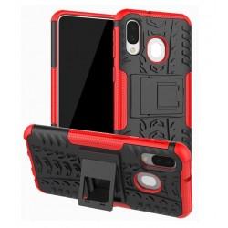 Samsung Galaxy A40 odolný obal Červený