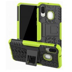 Odolný obal na Samsung Galaxy A40 | Armor case - Zelený