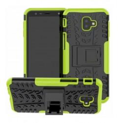 Odolný obal na Samsung Galaxy J6+ | Armor case - Zelený